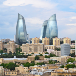 F1 Baku Skyline