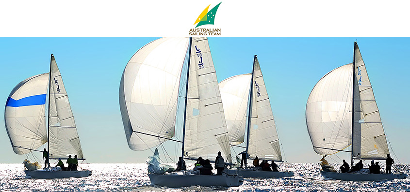 National Australian Sailing Team - SAILING TOWARDS GOLD WITH UBIMET