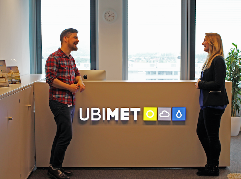 Ubimet Headquarter Front Desk