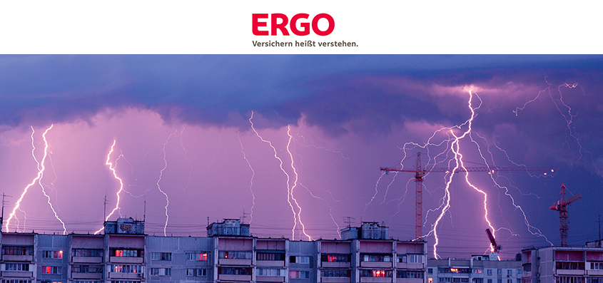 The ERGO insurance company and UBIMET have signed a contract on sending out severe weather warnings to ERGO customers