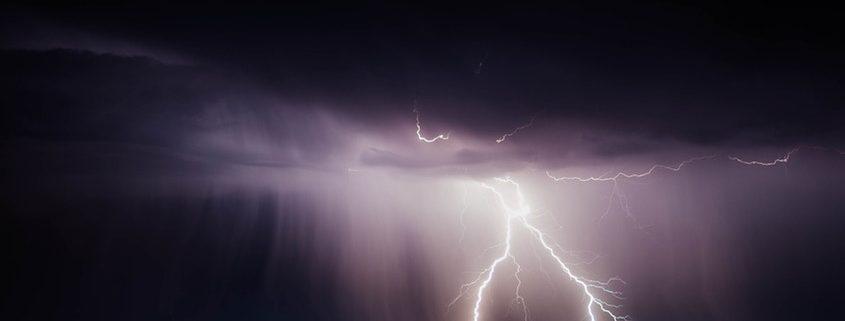 Ubimet Wetter - 250.000 Blitze von Freitag bis Sonntag