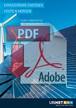 UBIMET Erneuerbare Energie Wetter Download