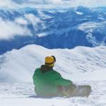 Klirrend kalt im Gebirge oft Dauerfrost in den Tälern