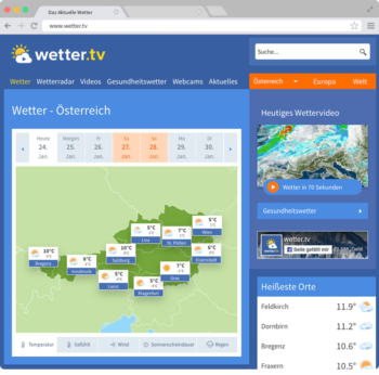 Wetter.tv online weather portal