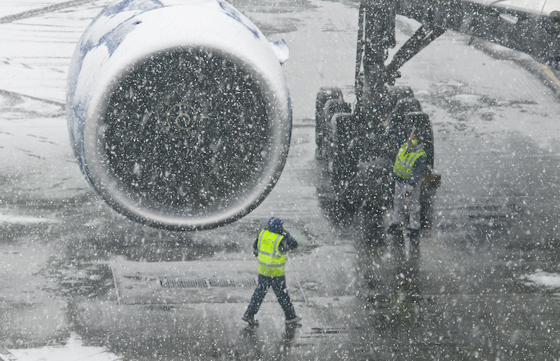 Efficient airport management with ubimet weather data Vienna Airport VIE