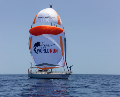 UBIMET supports Christian Schiester's around the globe endurance challenge