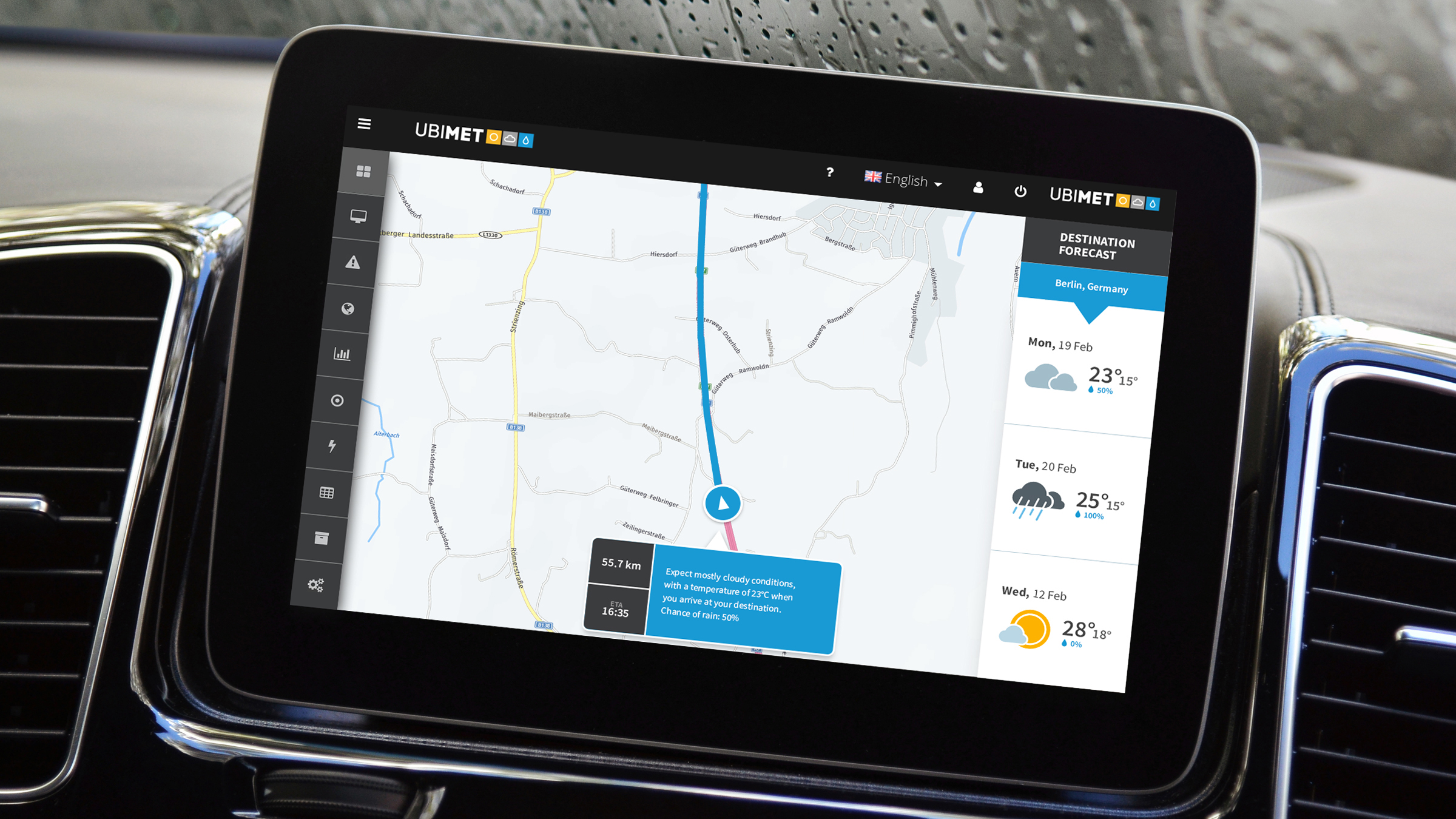 Weather Integrated Telematics Systems
