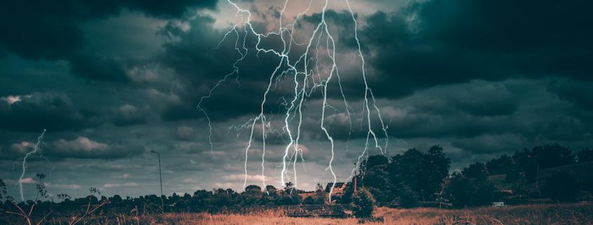 Heftige Gewitter sorgten österreichweit für knapp 70.000 Blitze