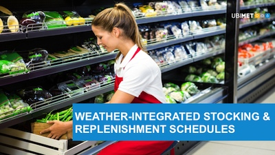 Weather-integrated-stocking-and-replenishment-schedules