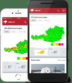 Severe Weather Center (UWZ) App, SMS & Email - UBIMET