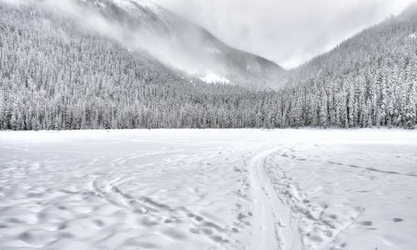Ein Meter Neuschnee in den Bergen sorgt für große Lawinengefahr