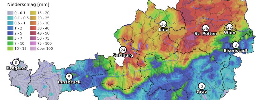 UBIMET: Neue Woche bringt sommerlich warmes, aber weiterhin nicht beständiges Wetter