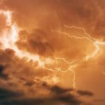 Kräftige Gewitter am Mittwoch brachten mehr als 100.000 Blitze