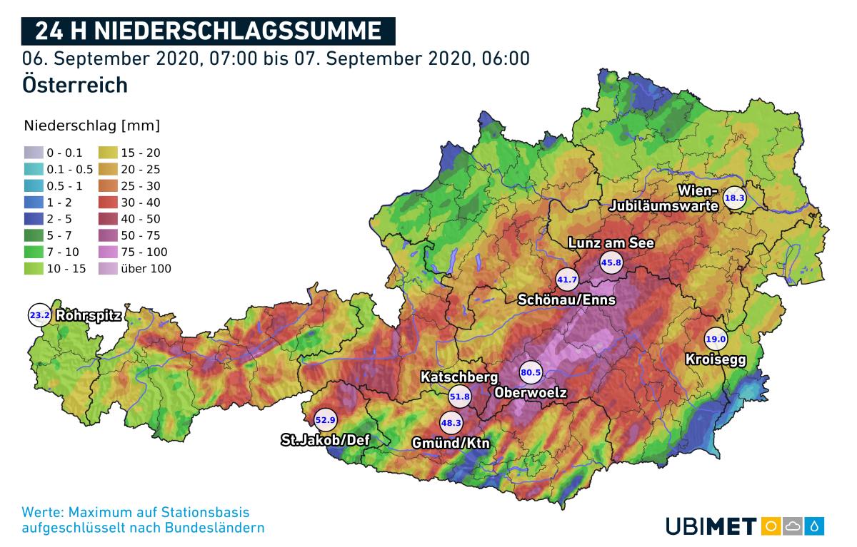 Kalibirierte-Regenanalyse-bis-Montagmorgen