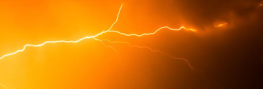 UBIMET-Weniger Blitze als üblich, Gewitterschwerpunkt in der Steiermark